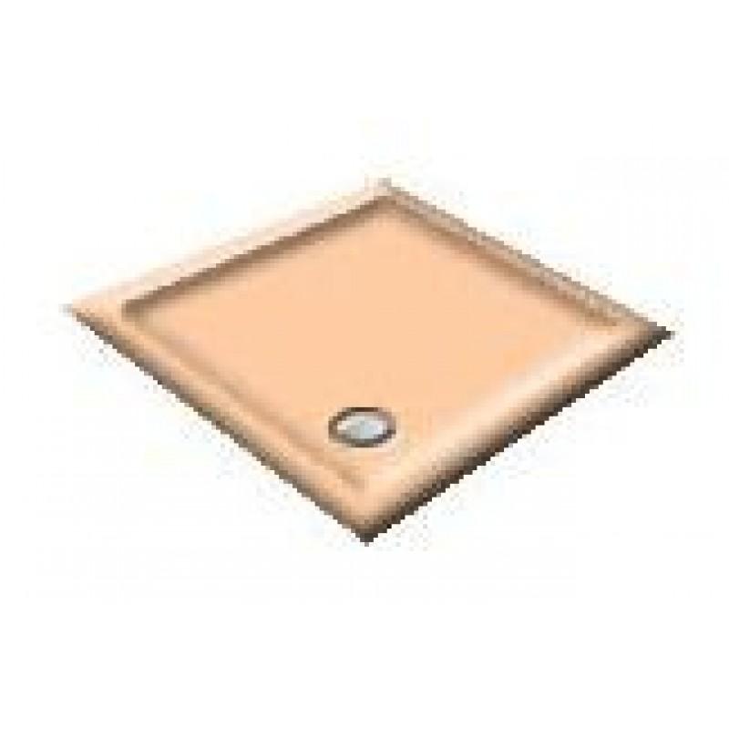 1000X800 Misty Peach Offset Quadrant Shower Trays