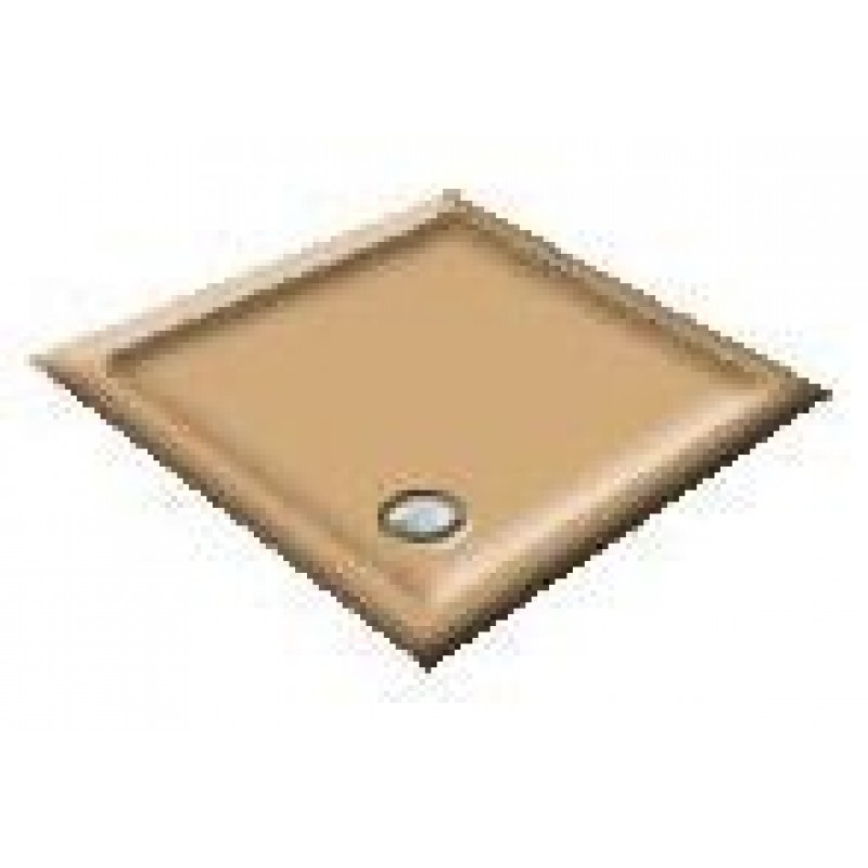 1000X800 Sandalwood Offset Quadrant Shower Trays