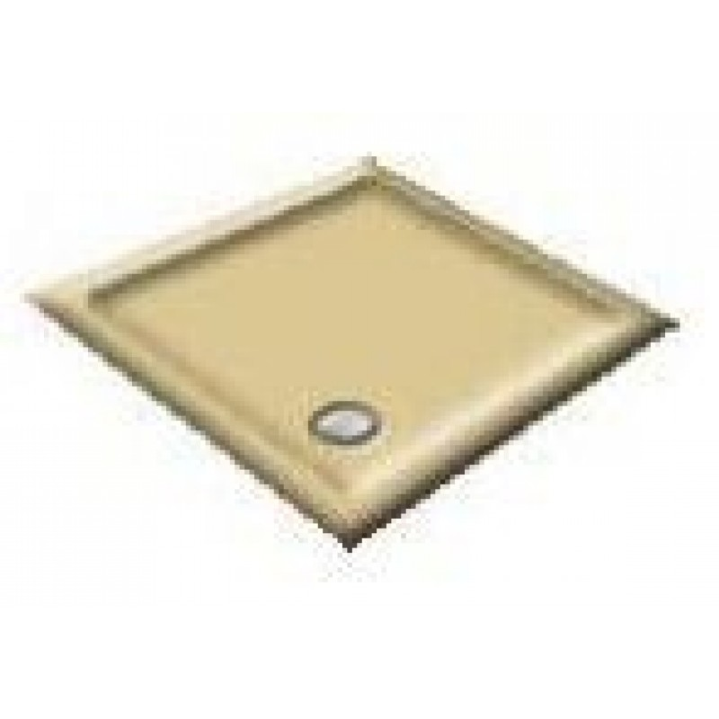 900X800 Sepia Offset Quadrant Shower Trays