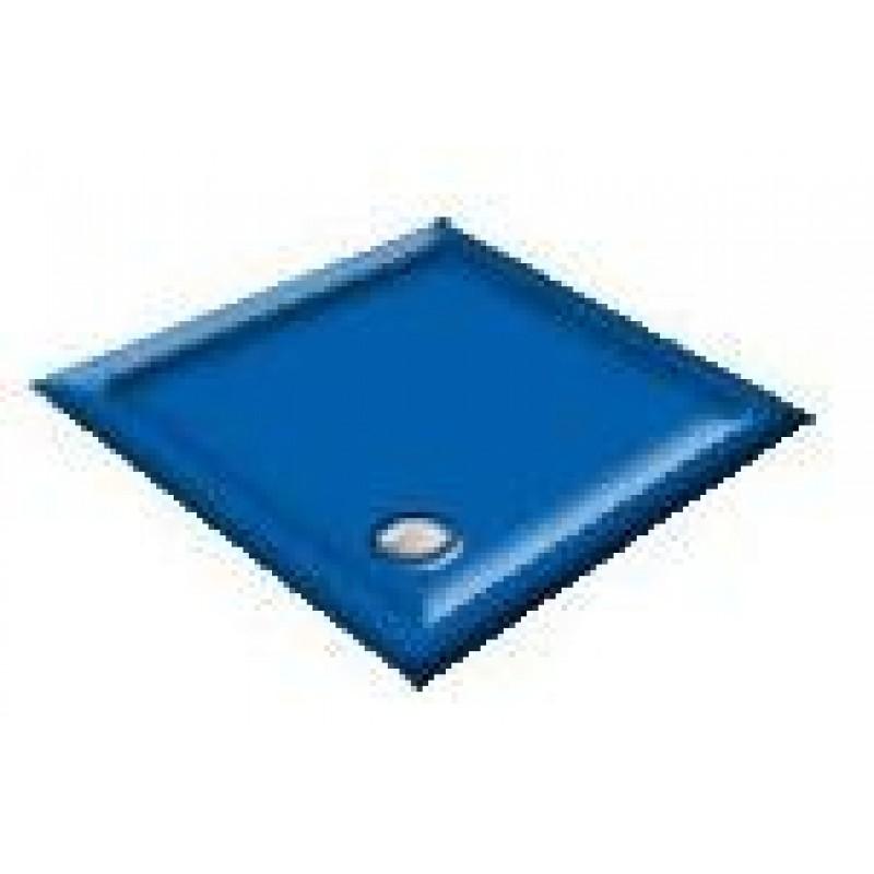 900X800 Sorrento Blue Offset Quadrant Shower Trays