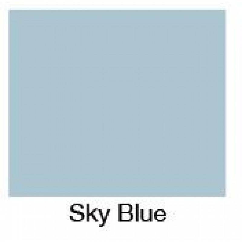 Sky Blue Bath Panel - End panel