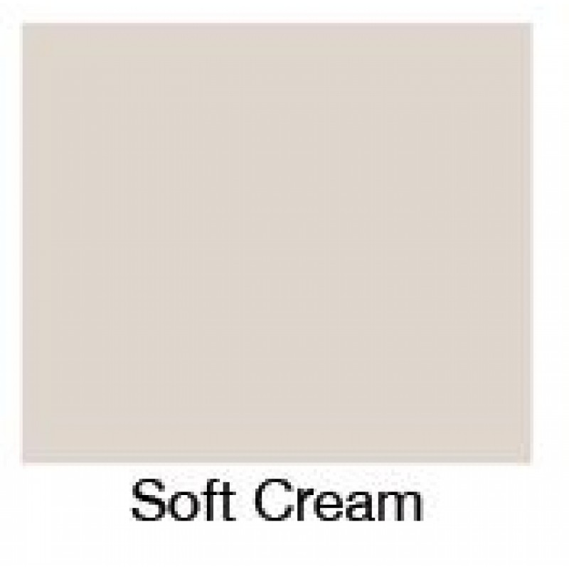 Soft Cream Bath Panel - Front panel