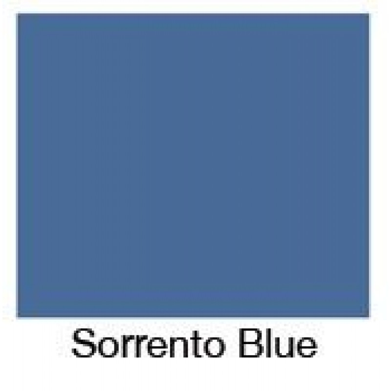 Sorrento Blue Bath Panel - End panel