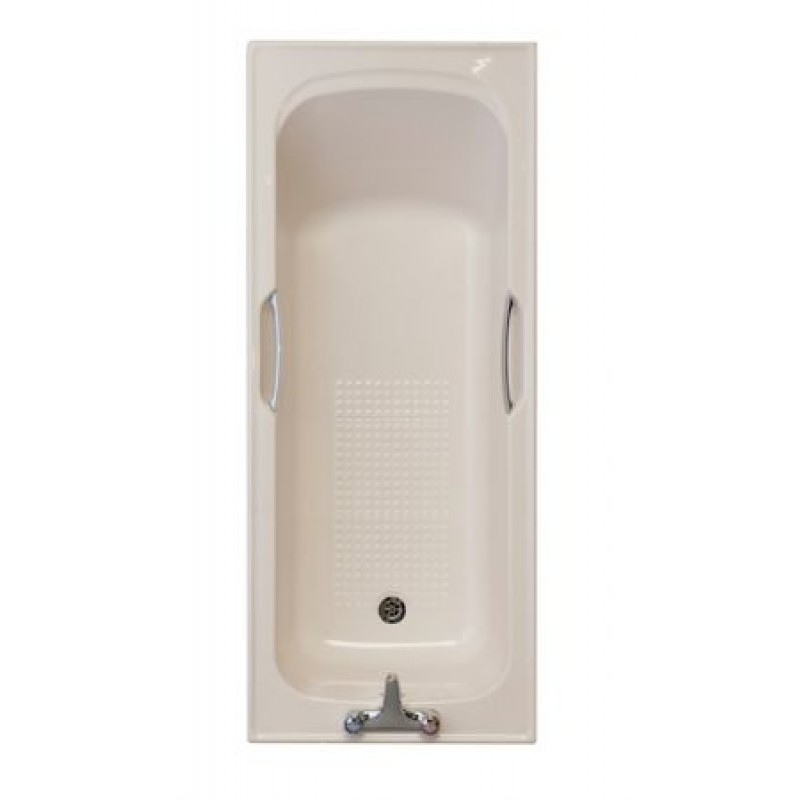 SOFT CREAM / 2 TAPHOLE TWINGRIP BATH 1700x700