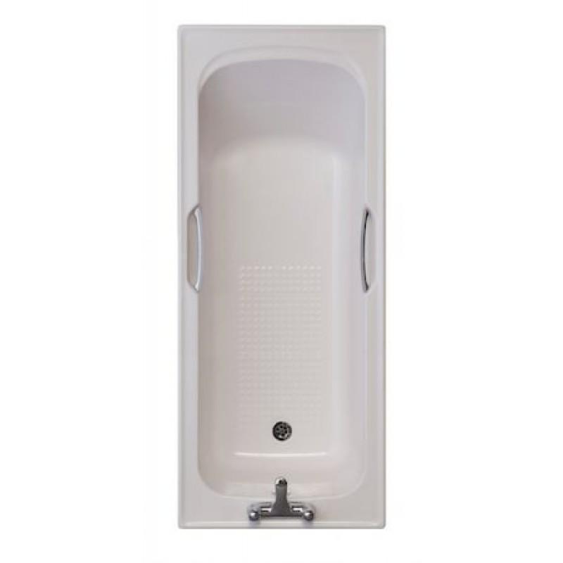 WHISPER PEACH / 2 TAPHOLE TWINGRIP BATH 1675x700