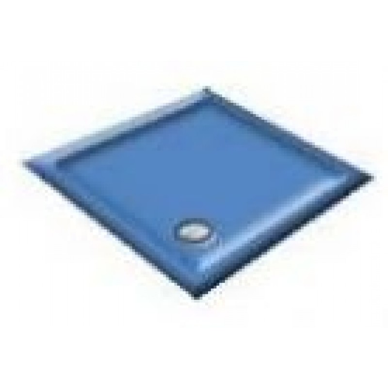 1000 Alpine Blue Quadrant Shower Trays