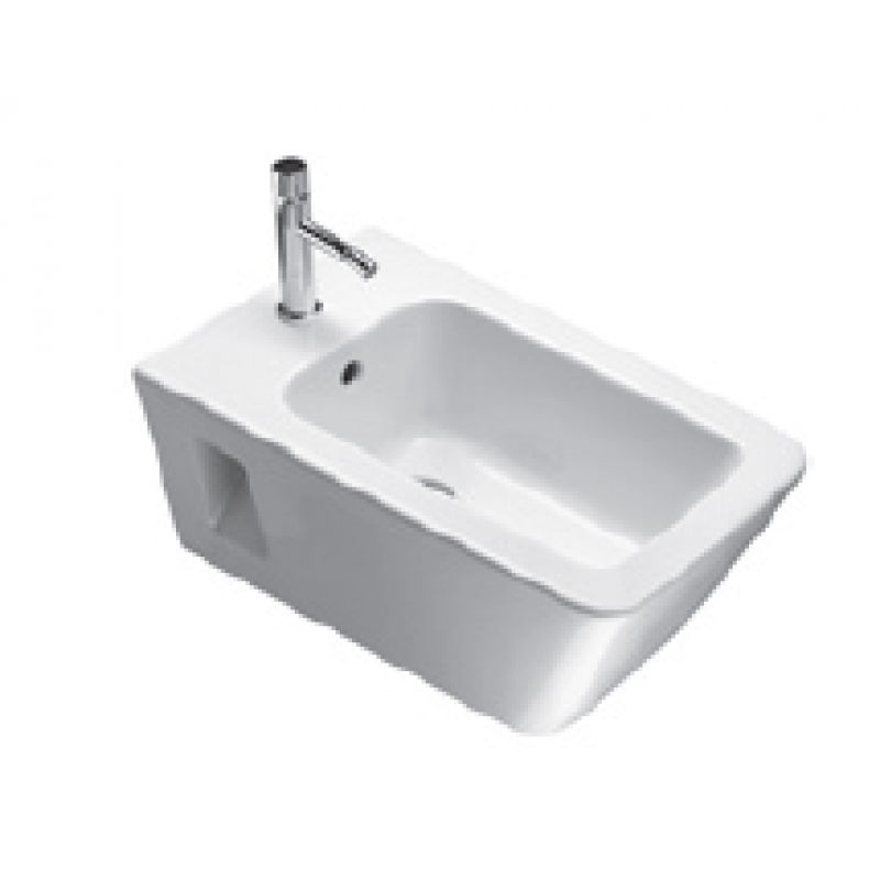 P56 Wall-hung bidet 1 tap hole