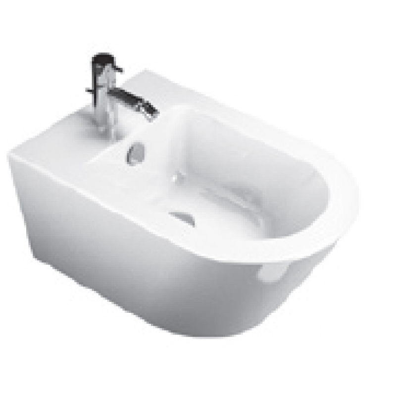 Z55 New Wall-hung bidet 1 tap hole