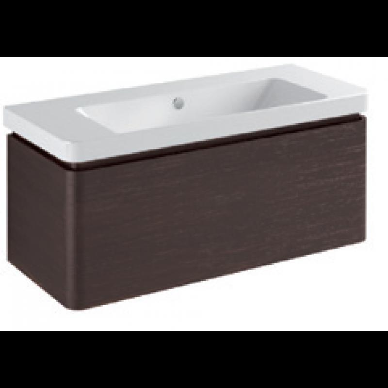 Base 1 drawer- Gloss white / matt colours  L105