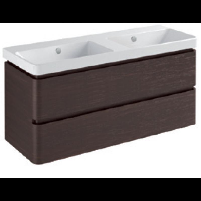 Base 2 drawers-Gloss white / matt colours /pearl / metallic colours L120