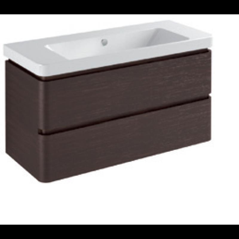 Base 2 drawers-Gloss white / matt colours / pearl / metallic colours L105