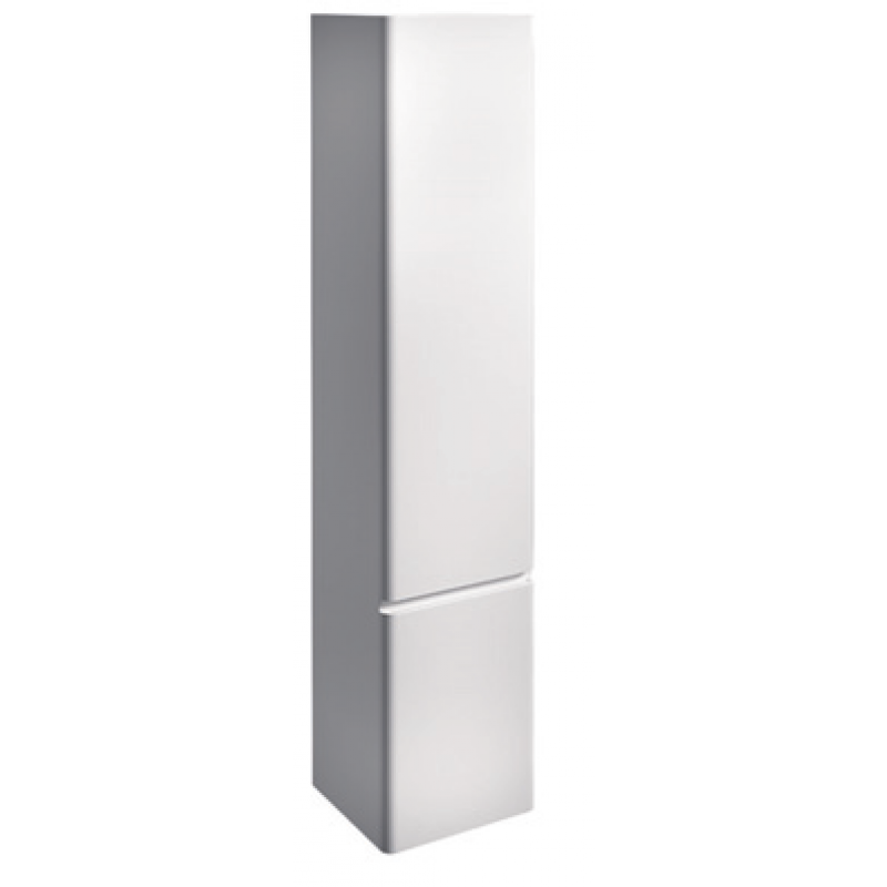 Tall Cabinet 2 doors-Gloss white / matt colours-L35