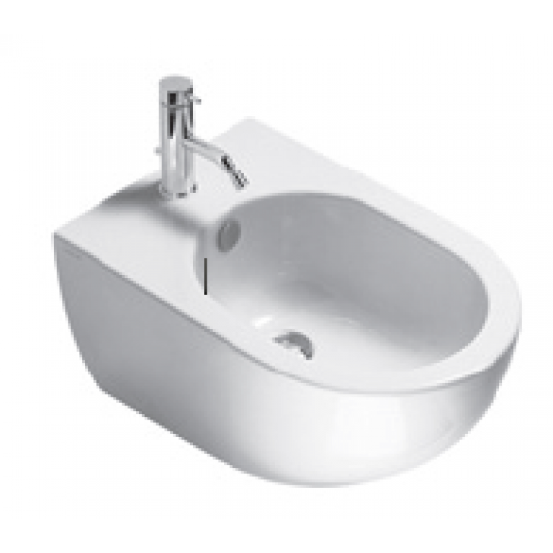 Sfera54 NEW Wall-hung bidet 1 tap hole