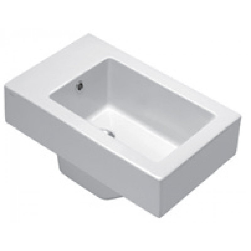 V53 Wall-hung bidet 1 tap hole