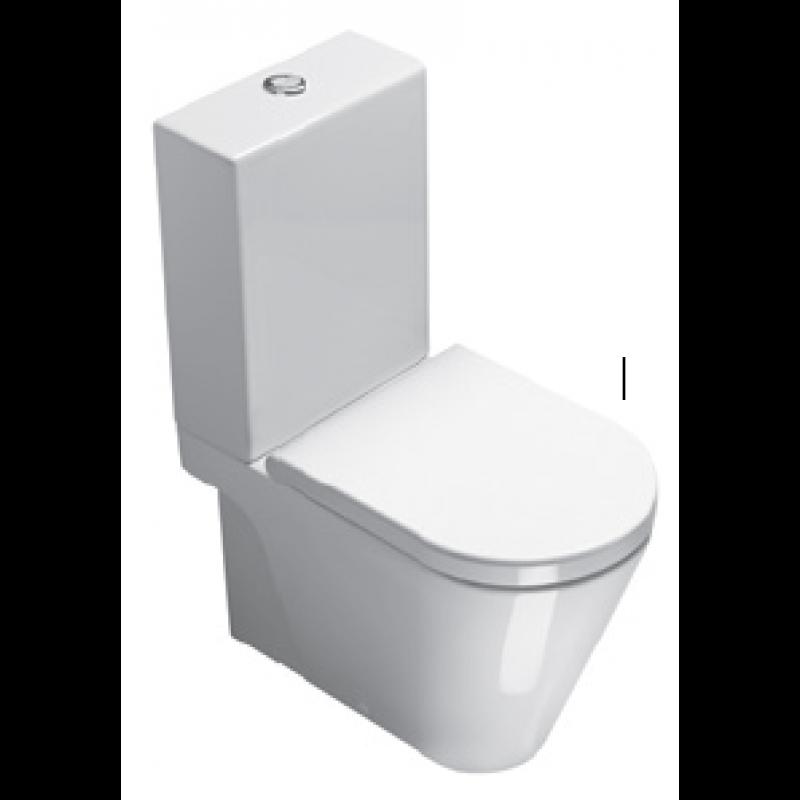 Close coupled cistern