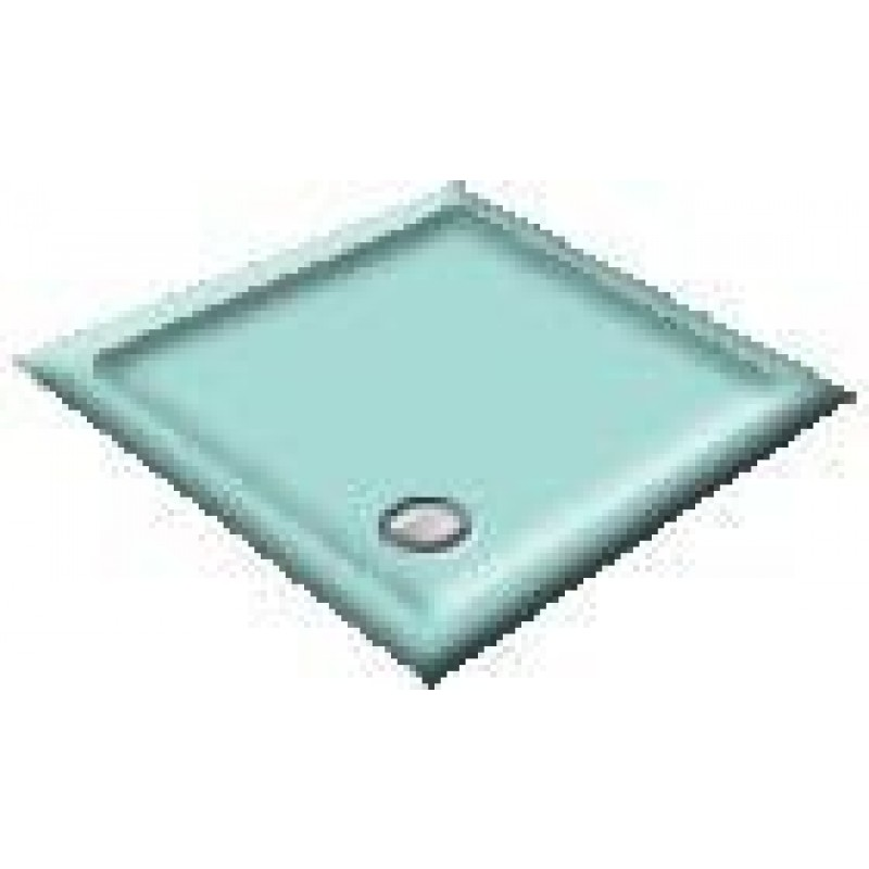 800 Turquoise Quadrant Shower Trays