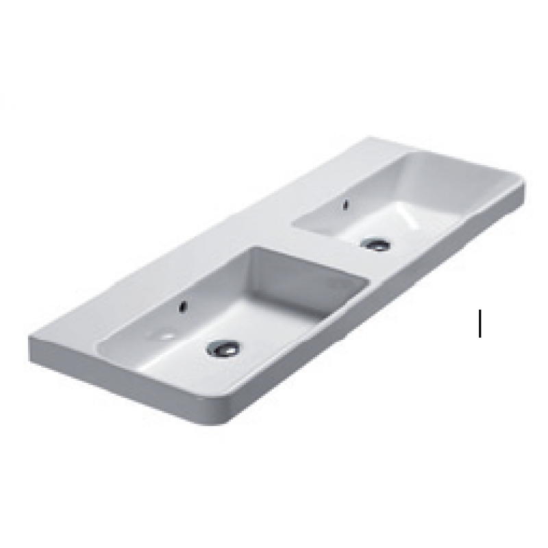 120 Washbasin 0, 1 or 3 tap holes