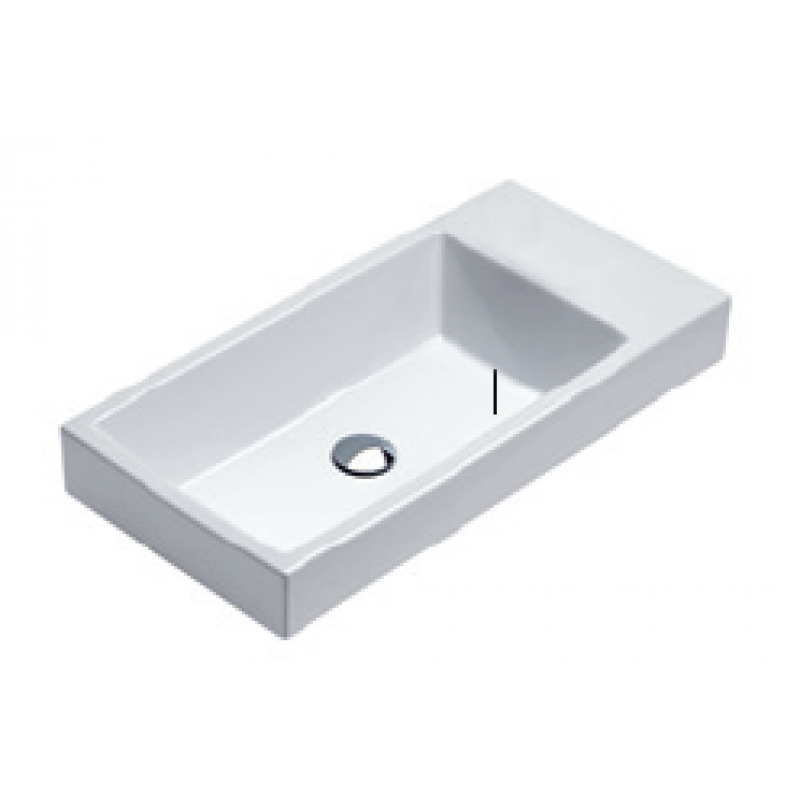 Trentasette 75 Washbasin 0 or 1 tap hole