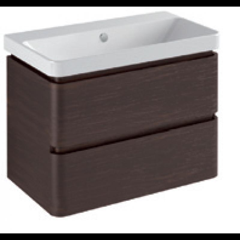 Base 2 drawer Gloss white / matt colours L -75
