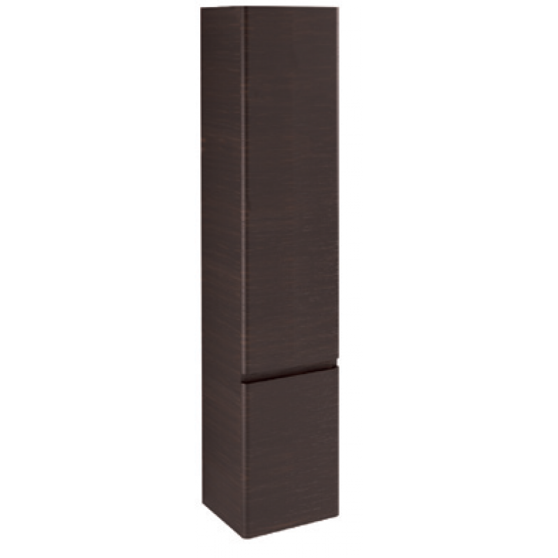 Tall Cabinet 2 doors-Glossy colours / Wood L35