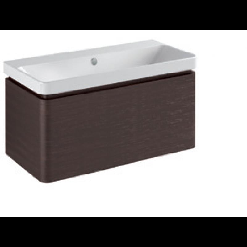 Base 1 drawer Gloss white / matt colours L -90