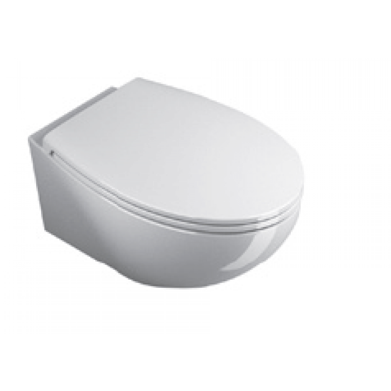57 New Wall-hung pan-White satin