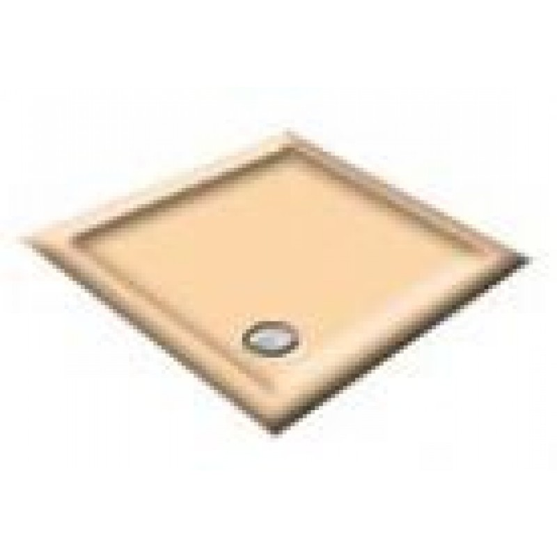1000x900 Almond Rectangular Shower Trays
