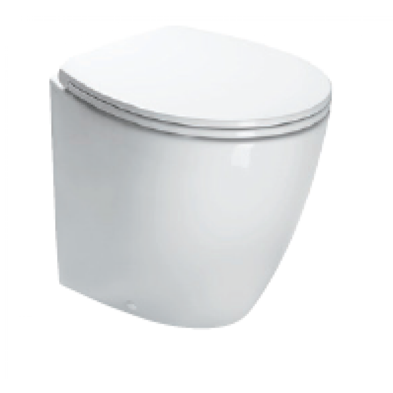 50 Back to wall PAN-White