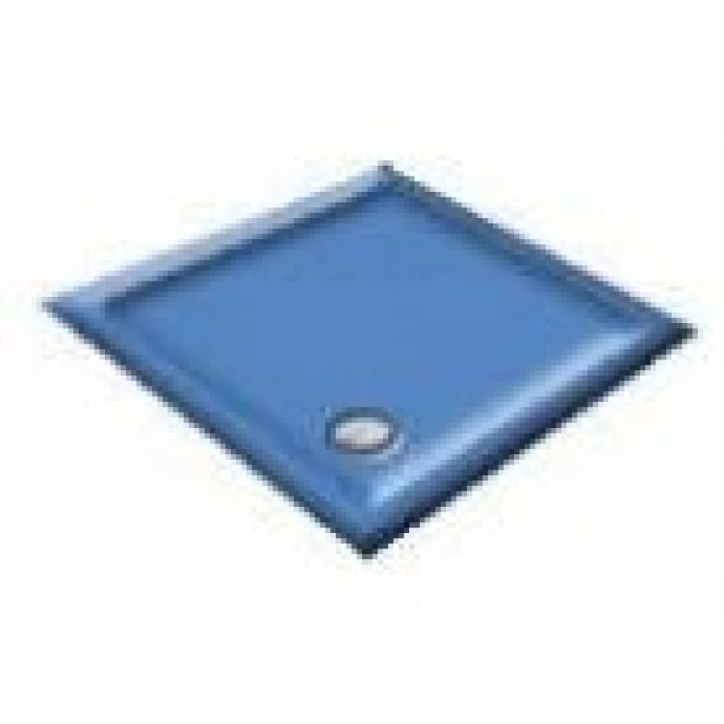 900x800 Alpine Blue Rectangular Shower Trays