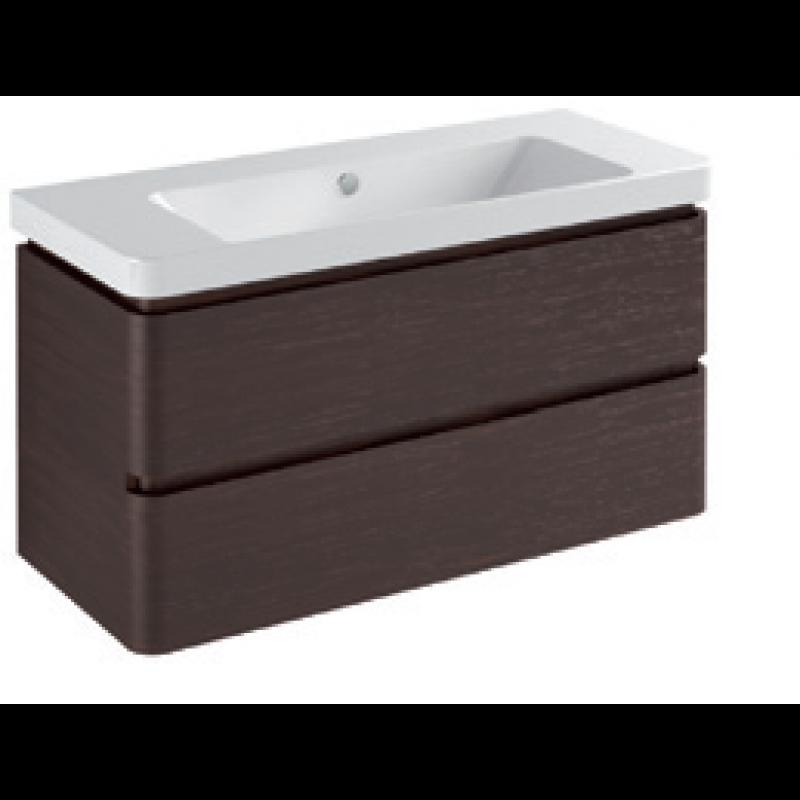 Base 2 drawer Gloss white / matt colours L -105