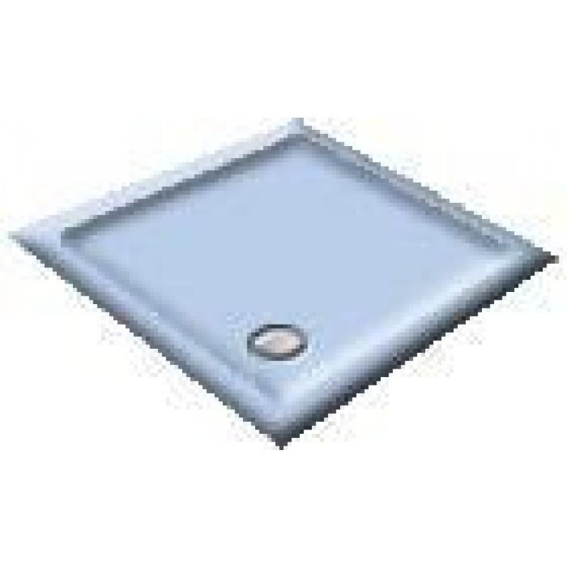 900x800 Armitage Blue Rectangular Shower Trays