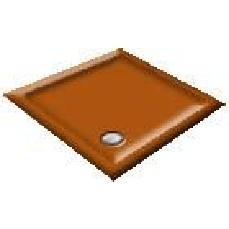 900x760 Autumn Tan Rectangular Shower Trays