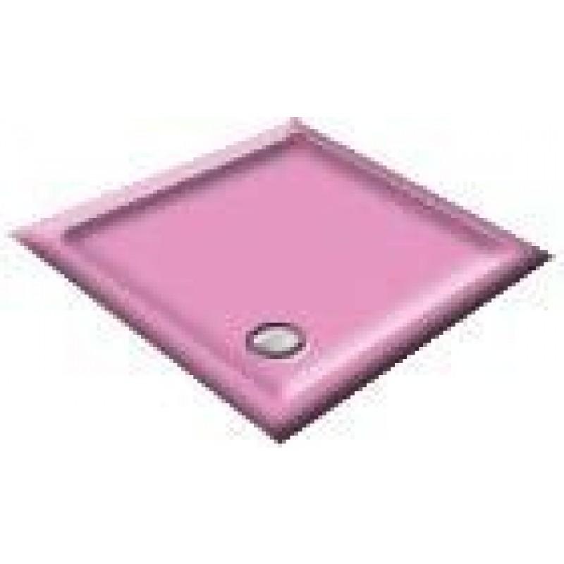 1000x700 Flamingo Pink Rectangular Shower Trays