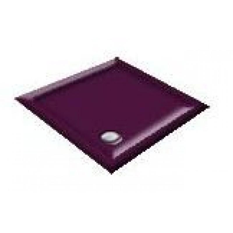 1200x800 Imperial Purple Offset Quadrant Shower Trays