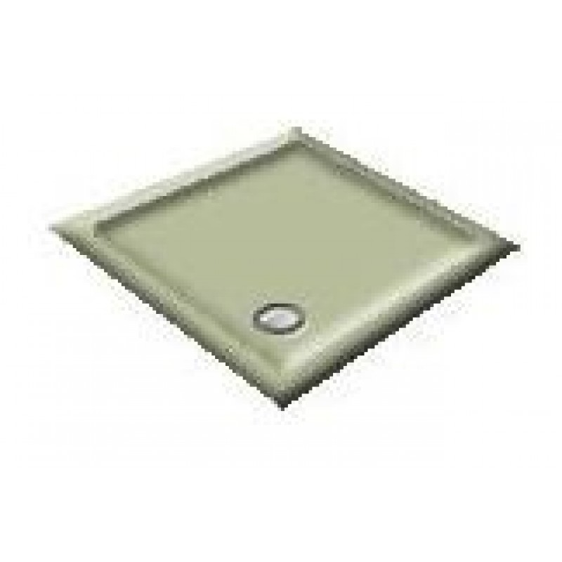 900x800 Linden Green Offset Quadrant Shower Trays