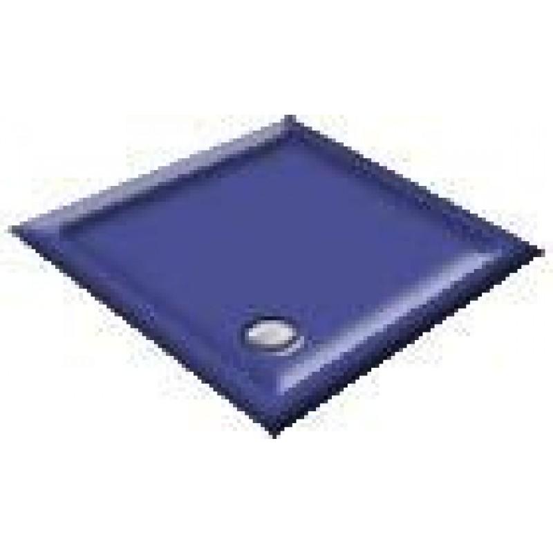 900x800 Midnight Blue Offset Quadrant Shower Trays
