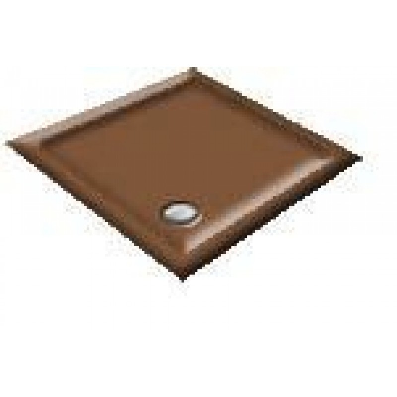 900X800 Mink Offset Quadrant Shower Trays