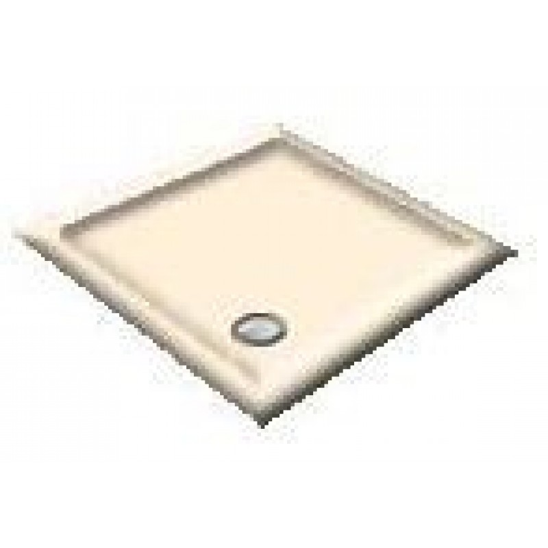 1000 Whisper Creme Pentagon Shower Trays