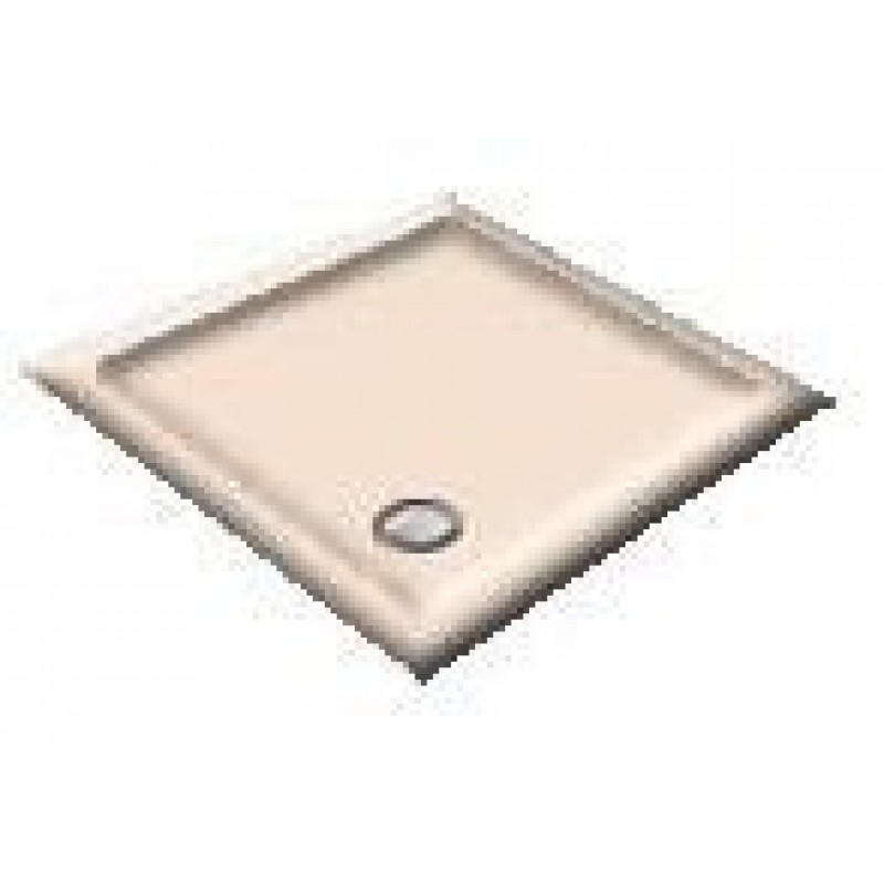 1000 Whisper Pink Pentagon Shower Trays