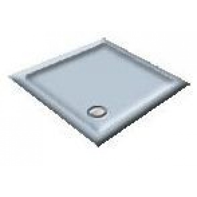 900 White/Blue Delft Pentagon Shower Trays