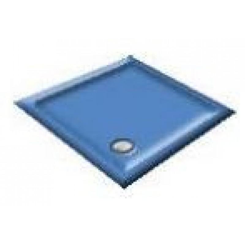 900x760 Alpine Blue Offset Quadrant Shower Trays