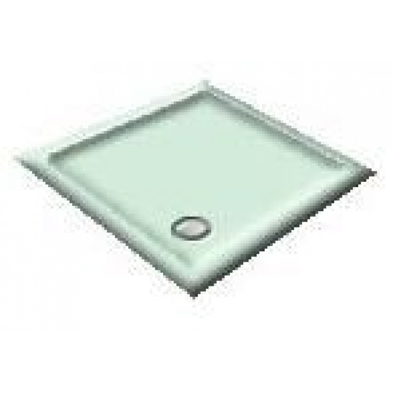 900x800 Apple/Light Green Offset Quadrant Shower Trays