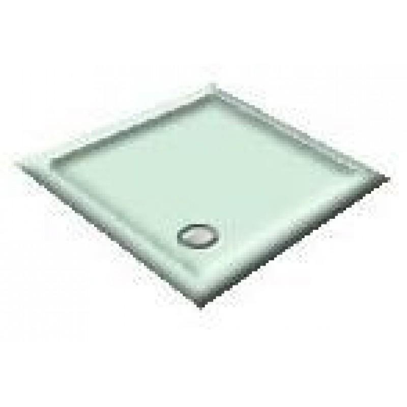 1000x800 Apple/Light Green Offset Quadrant Shower Trays