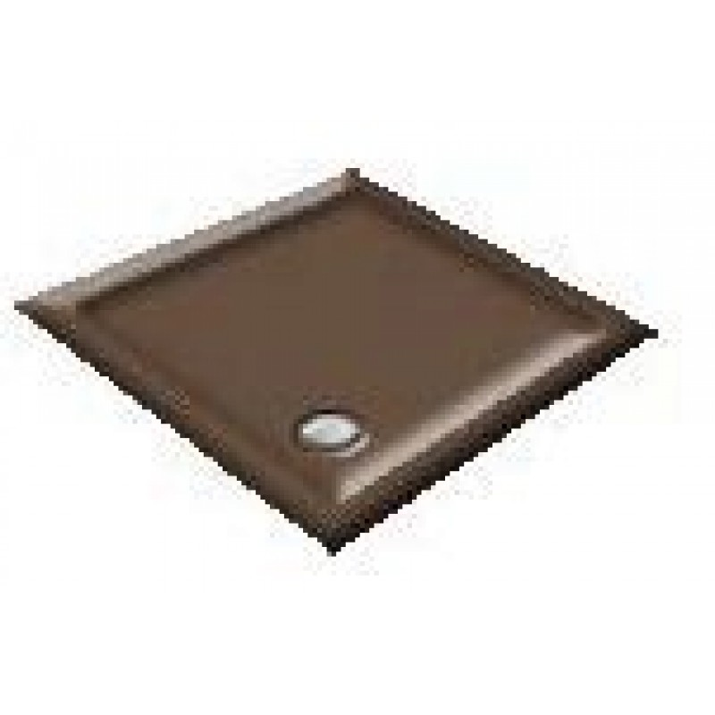 900x760 Bail Brown Offset Quadrant Shower Trays