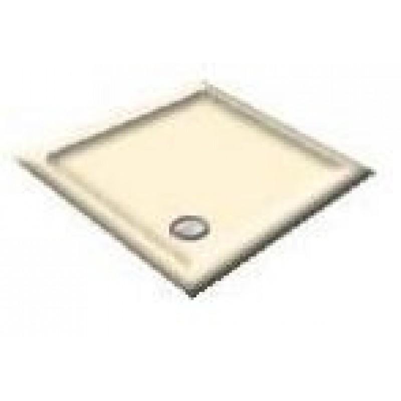 900x760 Bamboo Offset Quadrant Shower Trays