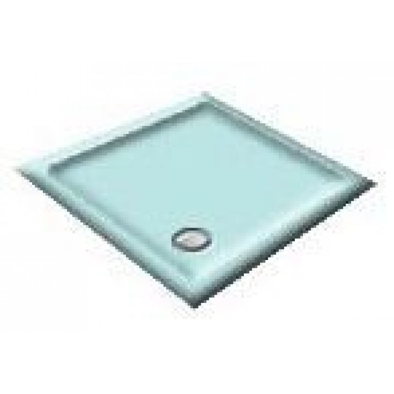 900x800 Blue Grass Offset Quadrant Shower Trays