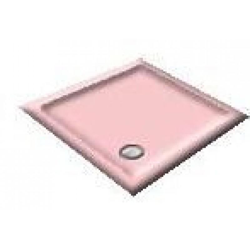 1000x800 Chiffon Offset Quadrant Shower Trays