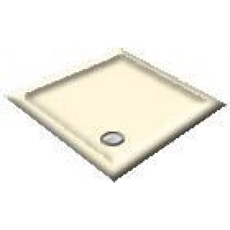 900x760 Creme Offset Quadrant Shower Trays