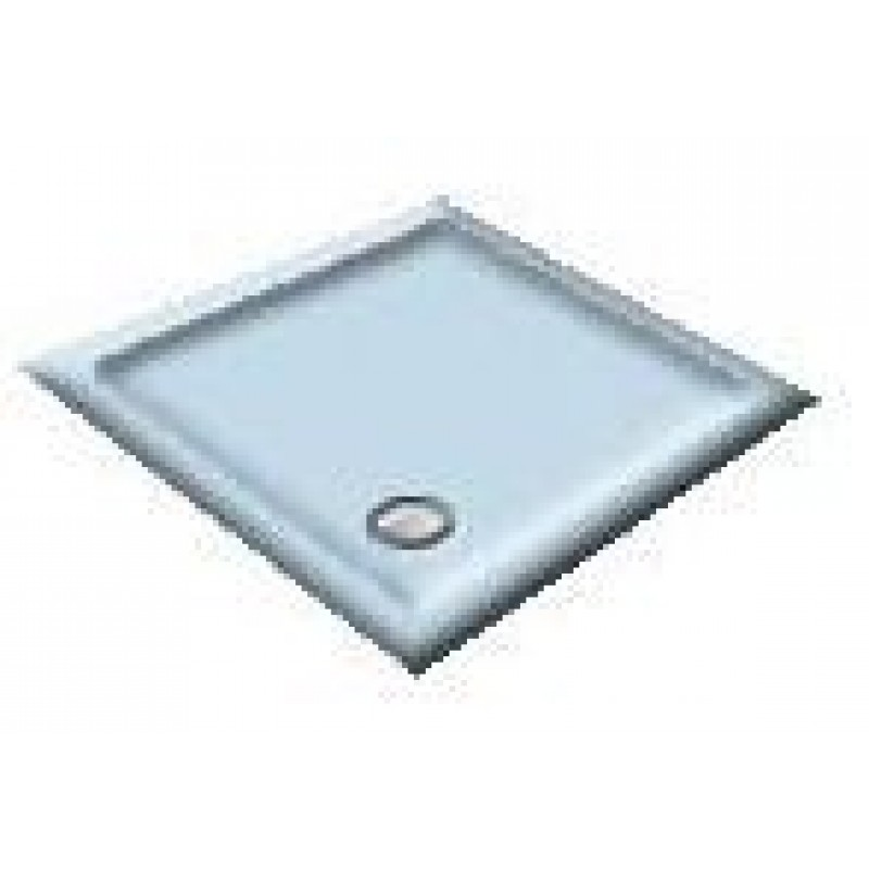 1200x800 Cornflower Offset Quadrant Shower Trays