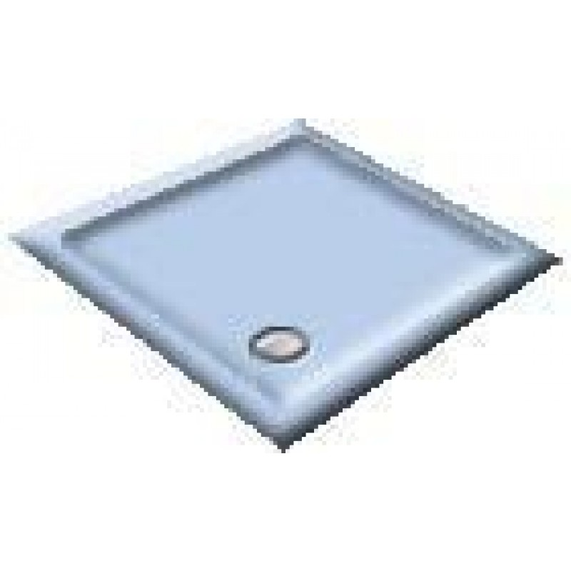 1400 Armitage Blue Offset Pentagon Shower Trays